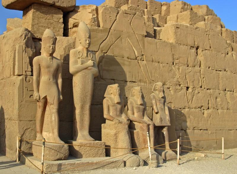 عکس های شگفت انگیز از معبد کرنک در مصر باستان  | تاریخ باستان تمدن عکسهای تاریخی