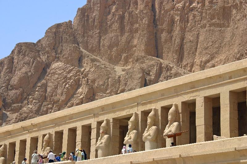 عکس های مقبره ملکه حتشپسوت در مصر - گزیده ای از تاریخ تمدن ...